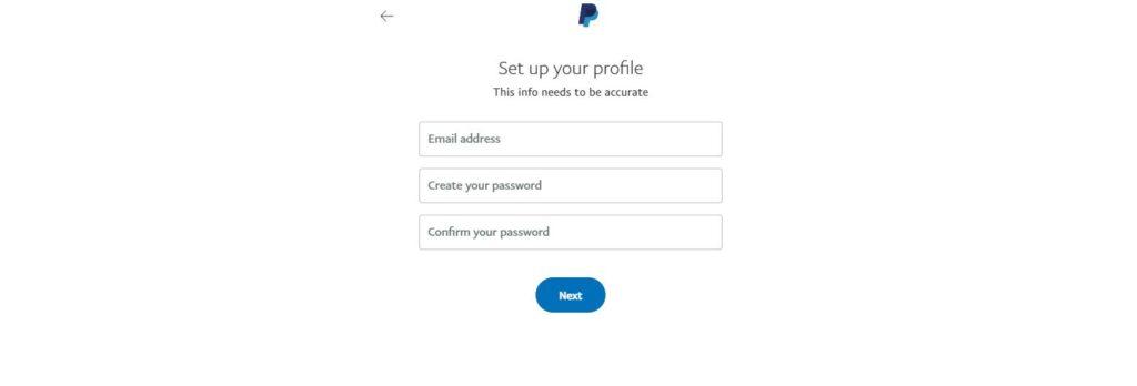 Paypal Set Profile