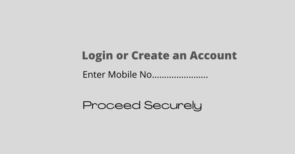 Enter Mobile no. in Paytm App